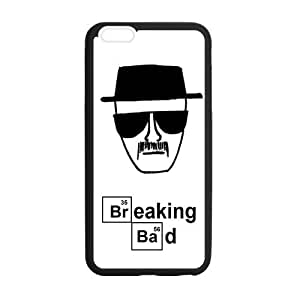 Custom Breaking Bad Phone Case Cover Protection For iphone 6, TPU, 4.7 inch, Black / White