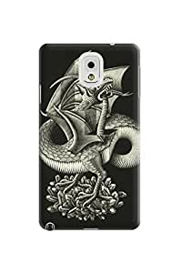 LarryToliver Creative Coolest Customizable Customizable Escher pictures samsung note 3 Case Cover Protective Polymer Cases #1