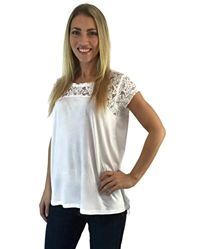 dkny-jeans-womens-short-sleeve-relaxed-fit-latest-fashion-signature-soft-lace-top-white-l