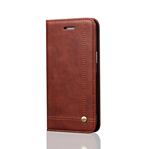 Price comparison product image For Samsung Galaxy S8 / S8 Plus,  MNtech New Wallet Leather Case Cover with Stand Protector (Brown,  For Samsung Galaxy S8 Plus)
