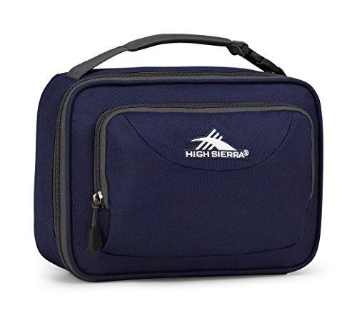 High Sierra Men's Single Compartment Lunch Bag Navy/Mercury