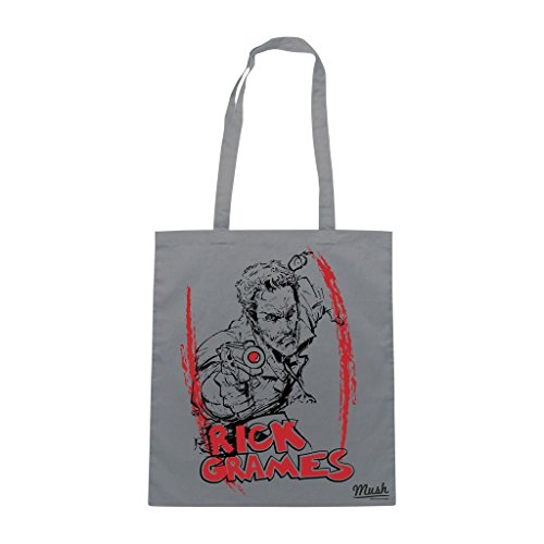 Borsa Rick Grames The Walking Dead - Grigia - Film by Mush Dress Your Style