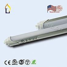 (50 PACK) T8 LED Tube Light 4FT Retrofit Kit Tube Lamp G13 18W (60W equivalent), 5000k (Cool White) UL-Listed & DLC-qualified Pack