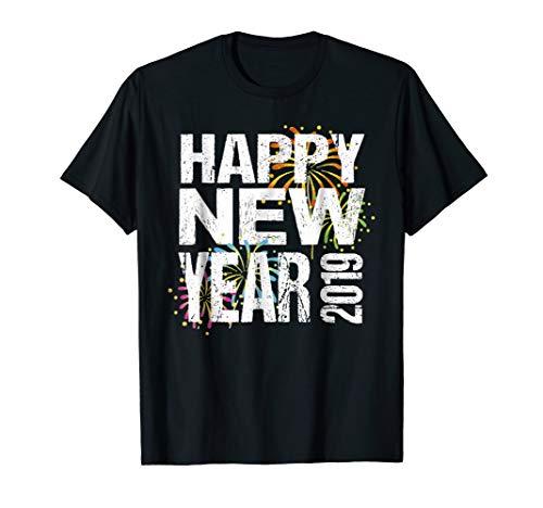 Happy New Year 2019 Tshirt New Years Eve T-Shirt
