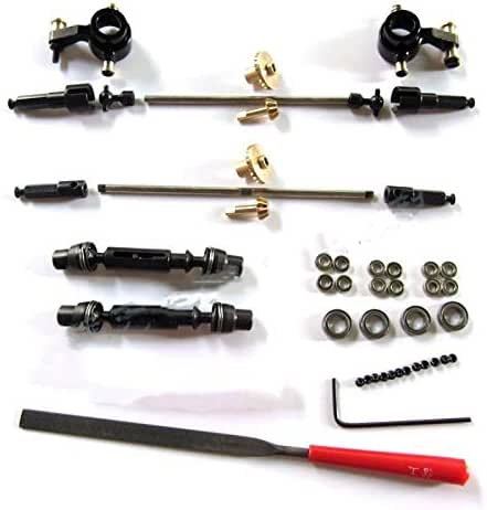 Isali WPL Original WPL Upgrade OP Fittings Full Metal Accessories N20 Motor Shell for WPL B14 B24 C14 C24 Available 44 - (Color: WPL Metal Gear)