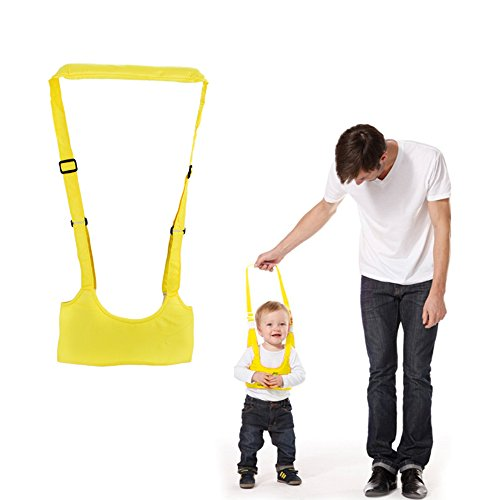 Handheld Baby Walker Helper Kid's Safe Walking Harness Protective Belt Learning Assistant , New Sling Walking Helper Educational Toy for Toddlers Pre-walkers,Soft and - Shoes Kids Focus
