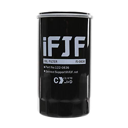 iFJF 122-0836 Oil Filter for HGJAA HGJAB HGJAC Cummins Onan Generator Replace OEM 122-0836 01220836