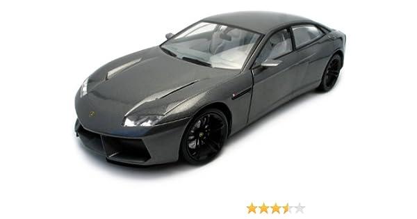 Amazon.com: Lamborghini Estoque Dark Gray 1:18 Diecast Model Car: Toys U0026  Games