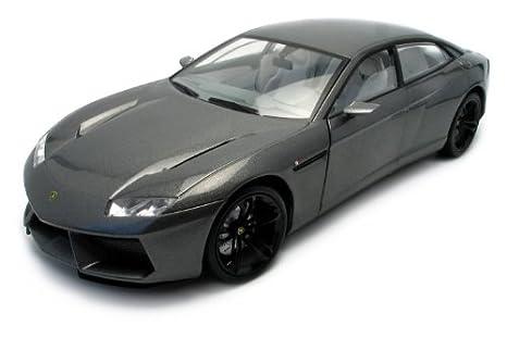 Beautiful Lamborghini Estoque Dark Gray 1:18 Diecast Model Car