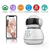 Cheap Fooyou Wireless WiFi Camera,1080P Home Surveillance IP Camera,Indoor Camera for Baby/Elder/Pet/Monitor,Pan/Tilt/Night Version/Voice Function/Cloud Service