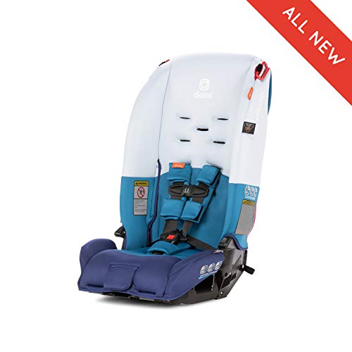Diono Radian 3R All-in-One Convertible Car Seat, for Children from Birth to 100 Pounds, Blue