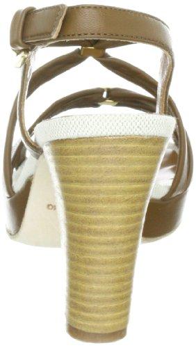 Samsonite Femme Sandales Dalia Mode Brown Soft Marron Leather ZFr8wfZq