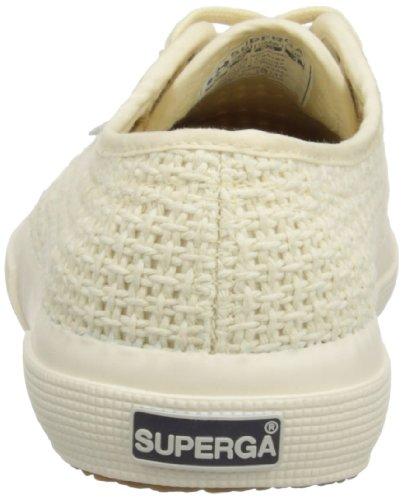 Para Lona De Ivory Zapatillas Superga Mujer Blanco 2750 Crochet RqwB4B
