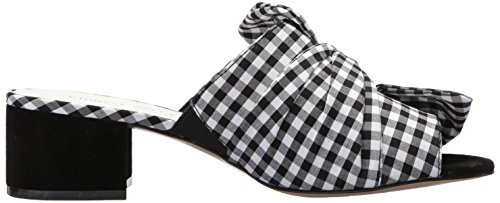 Sandal Chinese Marlowe Blk Wht Laundry Gingham Women's Slide zqzRHP