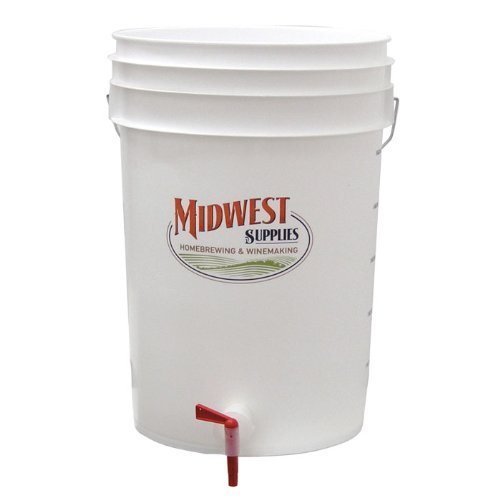 Bottling Bucket with Spigot by Midwest Homebrewing and Winemaking Supplies (Wine Bag Spigot compare prices)