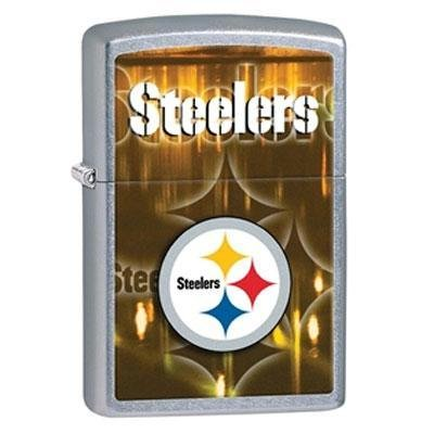 - Zippo NFL Pittsburgh Steelers Street Chrome Pocket Lighter