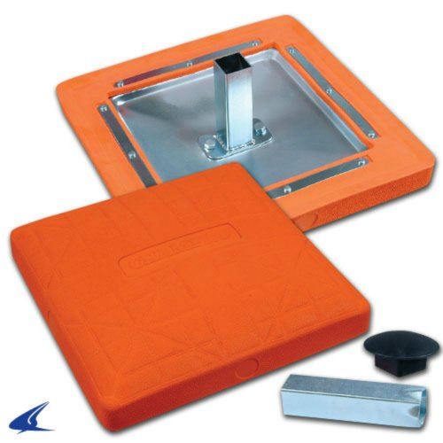 Champro 15'' x 15'' x 3'' Orange Safety Base by Champro
