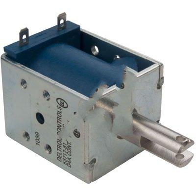 Deltrol Controls 53717-81 Solenoid D4 Series 120VDC Pull Continuous Duty 11.5W .187 QC