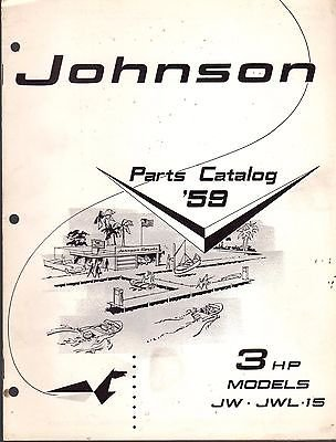 D MOTOR 3 HP PARTS CATALOG MANUAL P/N 377804 (171) (Hp Parts Catalog Manual)