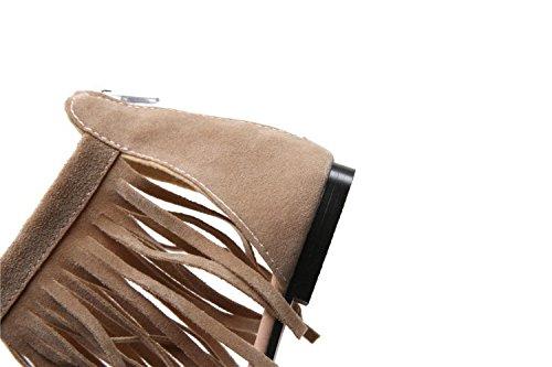Swallowuk , Sandales pour femme noir Noir Asien 39 Couleur crème