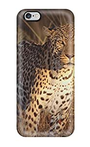 1804003K76664194 New Premium Intense Focus Leopard Skin Case Cover Excellent Fitted For Iphone 6 Plus