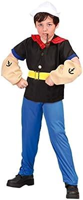 Disfraz de Popeye (7-9 años): Amazon.es: Juguetes y juegos