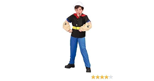 Disfraz de Popeye (10-12 años): Amazon.es: Juguetes y juegos