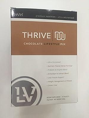 Thrive Premium Chocolate Shake Mix - Single Servings 16 Per Box