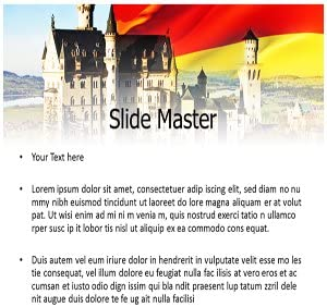 Amazon germany castle powerpointppt templates germany germany castle powerpointppt templates germany castle powerpoint templates powerpoint slides on castle toneelgroepblik Images