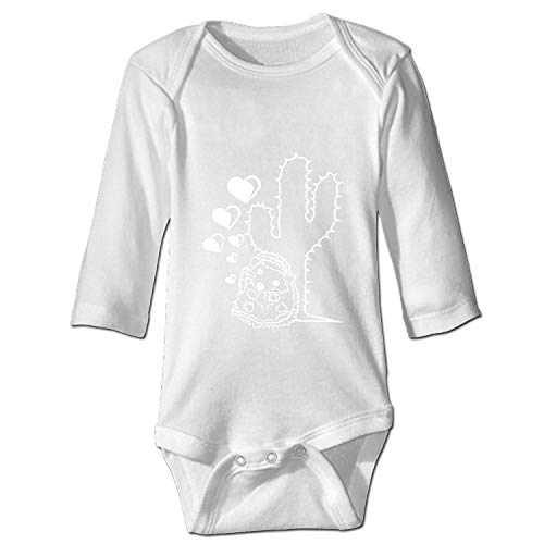 XPNiao Baby Verliebt Herzen Liebe Paar Stacheln Kaktus Bodysuits Rompers Outfits Summer Clothes,Long Sleeve (Kaktus Clothing)