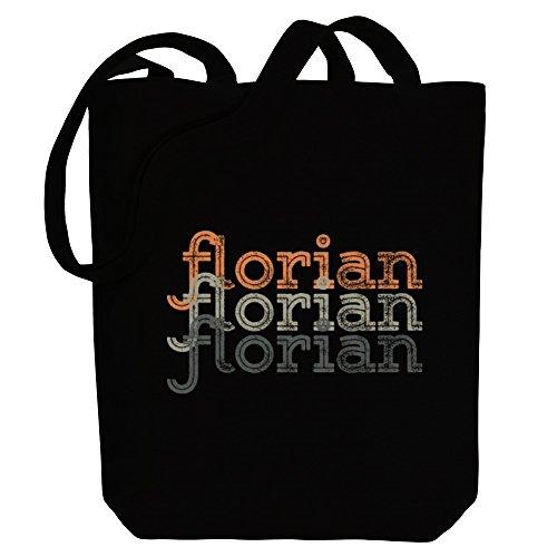 Florian Tote Canvas Idakoos Idakoos retro Male Bag repeat Names Florian repeat R6CfOO
