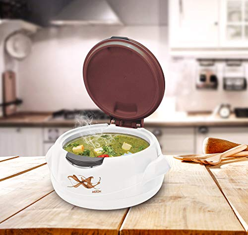 Milton Microwow One Touch Casserole, 1000 Ml, Brown
