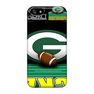 High Impact Dirt/shock Proof Case Cover For Iphone 5/5s (green Bay Packers)