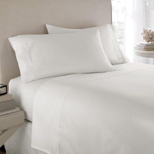 1000TC 100/% cotton 4p sheet set with matching size waterproof mattress protector