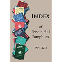 Index of Pendle Hill Pamphlets: 1934-2015