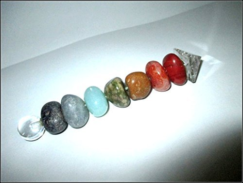 A++ Chakra Tumbled Healing Wand Stick Balancing Energy Reiki Powerful Aura Meditation Massage Pagan Wicca Spiritual Tantra Metaphysical Psychic Aura Powerful Success