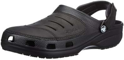 crocs Yukon Clog,Black/Black,7 M Us