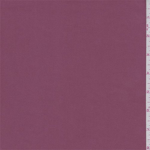 Mauve/Red Stretch Sateen, Fabric by The (Stretch Sateen Fabric)