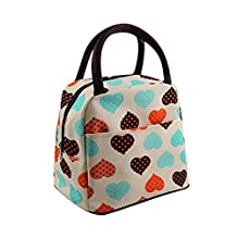 OUNONA Lunch Bag Waterproof Insulated Lunch Box for Kids and Adults (Colorful)