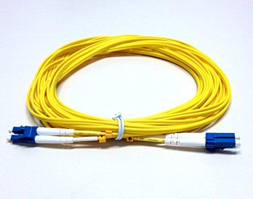 1 Duplex Fiber Sm Meter (1M LC-LC Duplex Single-Mode 9/125 SM Fiber Optic Cable)