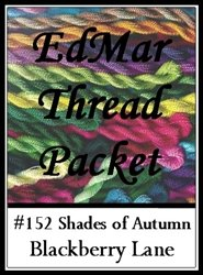 Shades of Autumn - Blackberry Lane Brazilian Embroidery EdMar thread packet only #152 ()