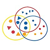 ETA hand2mind 5715 Attribute Sorting Circles, Set