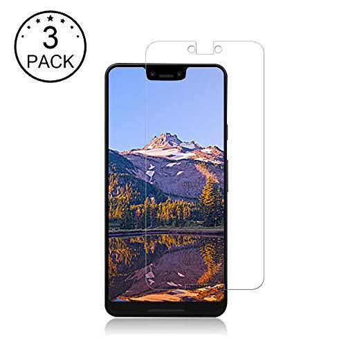 3 Pack Google Pixel 3 XL Screen Protector,BBInfinite[Case Friendly][Anti-Scratch] [HD][Anti-Fingerprint][Anti-Bubble][9H Hardness] Screen Protector Compatible with Google Pixel 3 XL