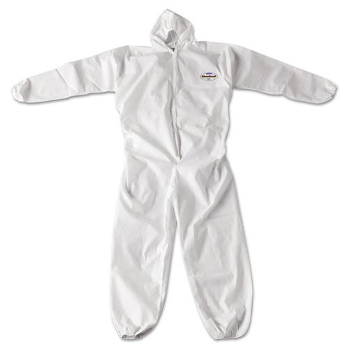 KleenGuard A20 Breathable Particle Protection Coveralls, Zip Closure, 2X-Large, White by KLEENGUARD