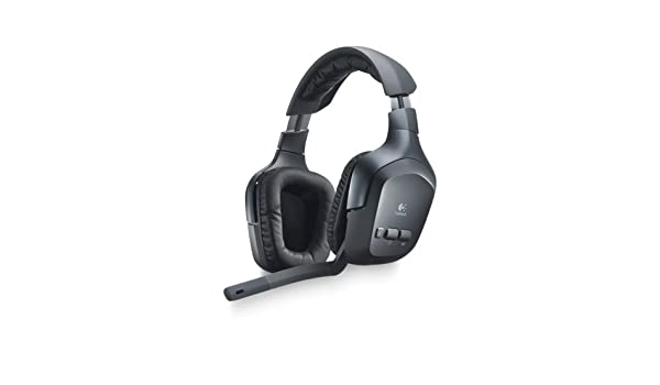 Logitech F540 Binaural Diadema Negro auricular con micrófono - Auriculares con micrófono (PC/Juegos, Binaural, Diadema, Negro, Inalámbrico, ...