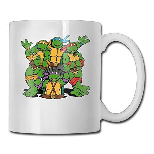 FOOOKL Ninja Turtle 11oz Tea Cup Coffee Mug ()