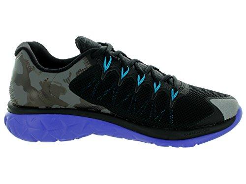 Nike Jordan Flight Runner 2, Zapatillas de Running para Hombre Negro / Azul (Black / Blue Lagoon-Brght Cncrd)