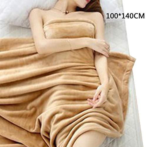 Idomeo 3 Type Coral Throw Blanket Soft Office Air Conditioning Blanket Coral Blankets Throws (Best Type Of Blanket)