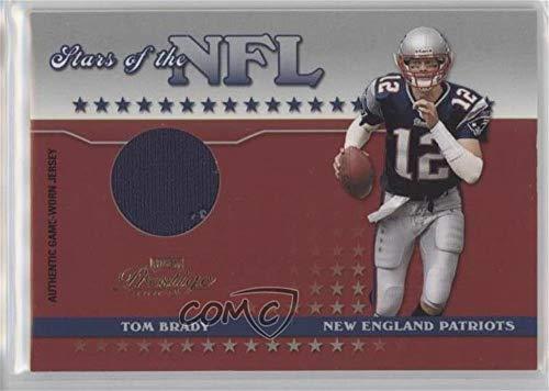 (Tom Brady #1/150 (Football Card) 2004 Playoff Prestige - Stars of the NFL Materials #NFL-15)