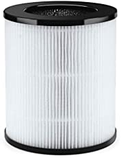 Air Purifier for Home, Air Filter Cleaner with H13 True HEPA Filter for 99.97% Smoke Pet Hair Odors, Sleep Mode, Timer, HEPA Air Purifiers for Large Room Bedroom Office, Available for California - (filter)